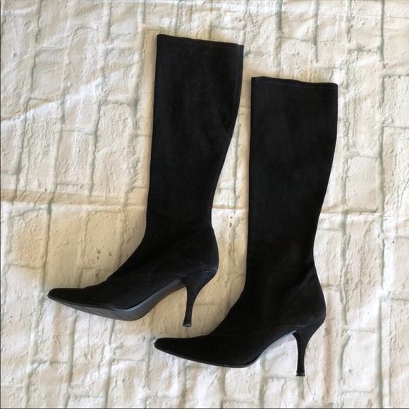 c8a49be411ff Stuart Weitzman black Suede Knee High boots. M_5c4a1af0c617772dc1199baa